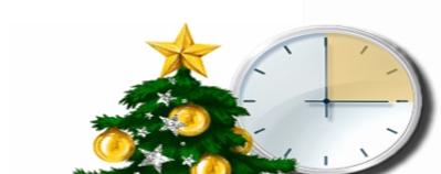 Horario del 24 y 31 de diciembre