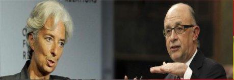 El FMI avisa a Montoro: Sin subir el IVA la recuperación es insostenible Las recetas del Fondo