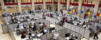Los sindicatos creen que sólo habrá 300 nuevas plazas en el Fisco