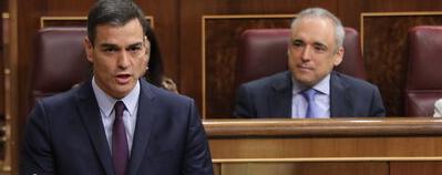 Sánchez ofrece a Iglesias hachazo fiscal, reforma laboral, pensiones y dispendio