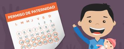 El permiso de paternidad será de 8 semanas este año y de 16 en 2021